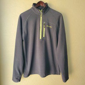 Columbia Half Zip Fleece Pullover Jacket
